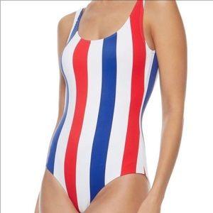 Onia • NWT Red White Blue Stripe Kelly One Piece
